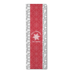 Snowflakes Runner Rug - 3.66'x8' (Personalized)
