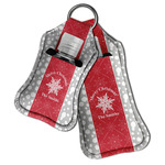Snowflakes Hand Sanitizer & Keychain Holder (Personalized)