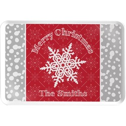Snowflakes Serving Tray (Personalized)
