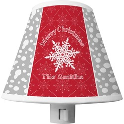 Snowflakes Shade Night Light (Personalized)