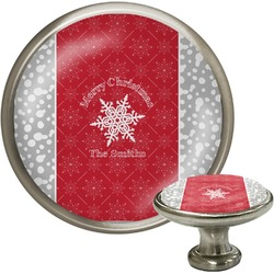 Snowflakes Cabinet Knobs (Personalized)