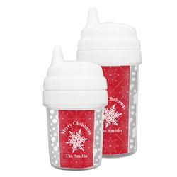 Snowflakes Sippy Cup (Personalized)