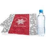 Snowflakes Sports & Fitness Towel (Personalized)