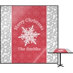 Snowflakes Square Table Top (Personalized)