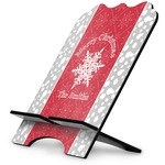 Snowflakes Stylized Tablet Stand (Personalized)