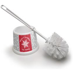 Snowflakes Toilet Brush (Personalized)