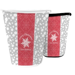 Snowflakes Waste Basket (Personalized)