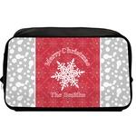 Snowflakes Toiletry Bag / Dopp Kit (Personalized)