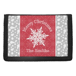 Snowflakes Trifold Wallet (Personalized)