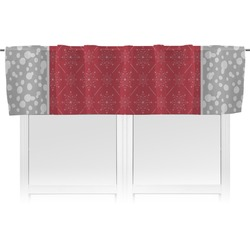 Snowflakes Valance (Personalized)