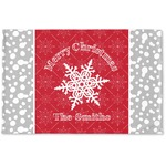 Snowflakes Woven Mat (Personalized)