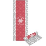 Snowflakes Yoga Mat - Printable Front and Back (Personalized)