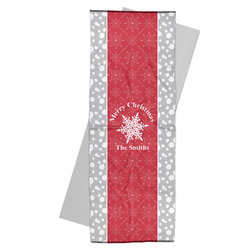 Snowflakes Yoga Mat Towel (Personalized)