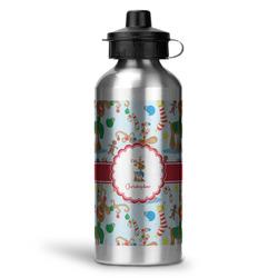 Reindeer Water Bottle - Aluminum - 20 oz (Personalized)