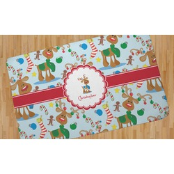 Reindeer Area Rug (Personalized)