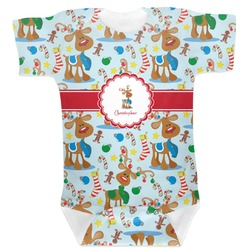 Reindeer Baby Bodysuit (Personalized)