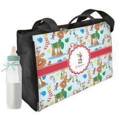 Reindeer Diaper Bag w/ Name or Text