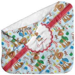 Reindeer Baby Hooded Towel (Personalized)