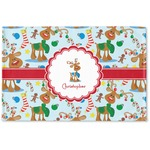 Reindeer Woven Mat (Personalized)