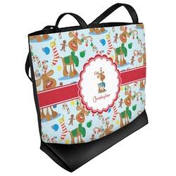 Reindeer Beach Tote Bag (Personalized)