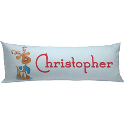 Reindeer Body Pillow Case (Personalized)