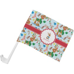 Reindeer Car Flag (Personalized)