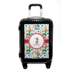 Reindeer Carry On Hard Shell Suitcase (Personalized)