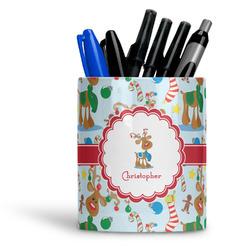 Reindeer Ceramic Pen Holder