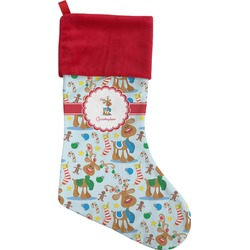 Reindeer Christmas Stocking (Personalized)