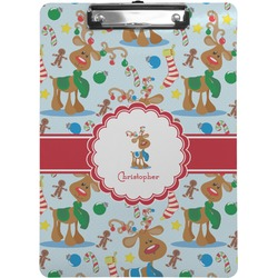Reindeer Clipboard (Personalized)
