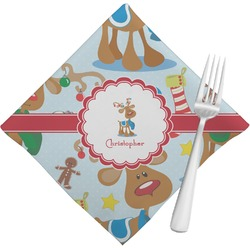 Reindeer Napkins (Set of 4) (Personalized)