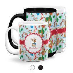 Reindeer Coffee Mugs (Personalized)
