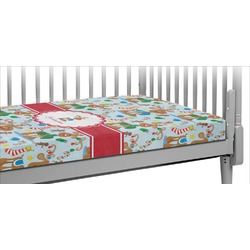 Reindeer Crib Fitted Sheet (Personalized)