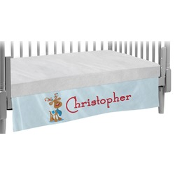 Reindeer Crib Skirt (Personalized)