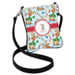Reindeer Cross Body Bag - 2 Sizes (Personalized)