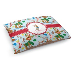 Reindeer Dog Pillow Bed (Personalized)