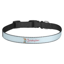 Reindeer Dog Collar - Medium (Personalized)