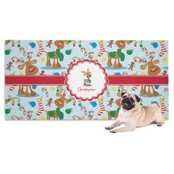 Reindeer Pet Towel (Personalized)