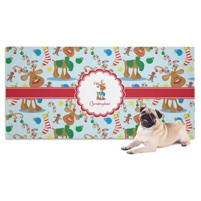 Reindeer Dog Towel (Personalized)