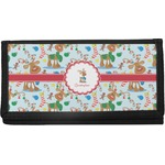 Reindeer Canvas Checkbook Cover (Personalized)