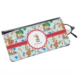 Reindeer Genuine Leather Eyeglass Case (Personalized)