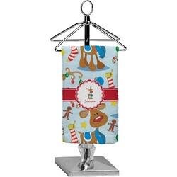 Reindeer Finger Tip Towel - Full Print (Personalized)