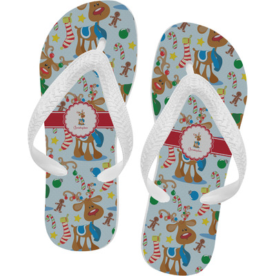 Reindeer Flip Flops (Personalized)