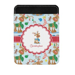 Reindeer Genuine Leather Money Clip (Personalized)