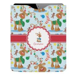 Reindeer Genuine Leather iPad Sleeve (Personalized)