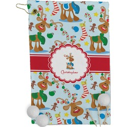 Reindeer Golf Towel - Full Print (Personalized)