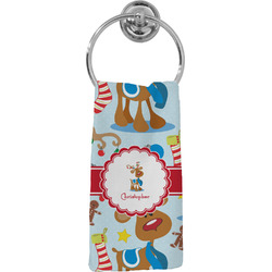 Reindeer Hand Towel - Full Print (Personalized)