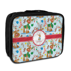 Reindeer Insulated Lunch Bag (Personalized)