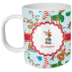 Reindeer Plastic Kids Mug (Personalized)