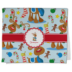 Reindeer Kitchen Towel - Full Print (Personalized)